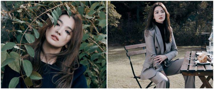 Lama tak bintangi drama, ini 10 gaya pemotretan terbaru Song Hye-kyo