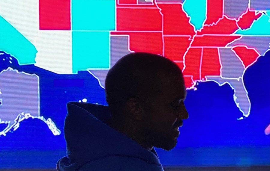Ikut bertarung di Pilpres AS, ini perolehan suara Kanye West