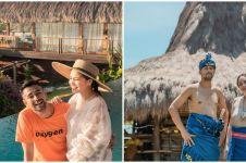 10 Momen liburan Raffi Ahmad dan Nagita di Sumba, belajar menenun kain