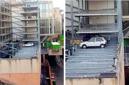 lokasi mobil parkir nyeleneh © Berbagai sumber