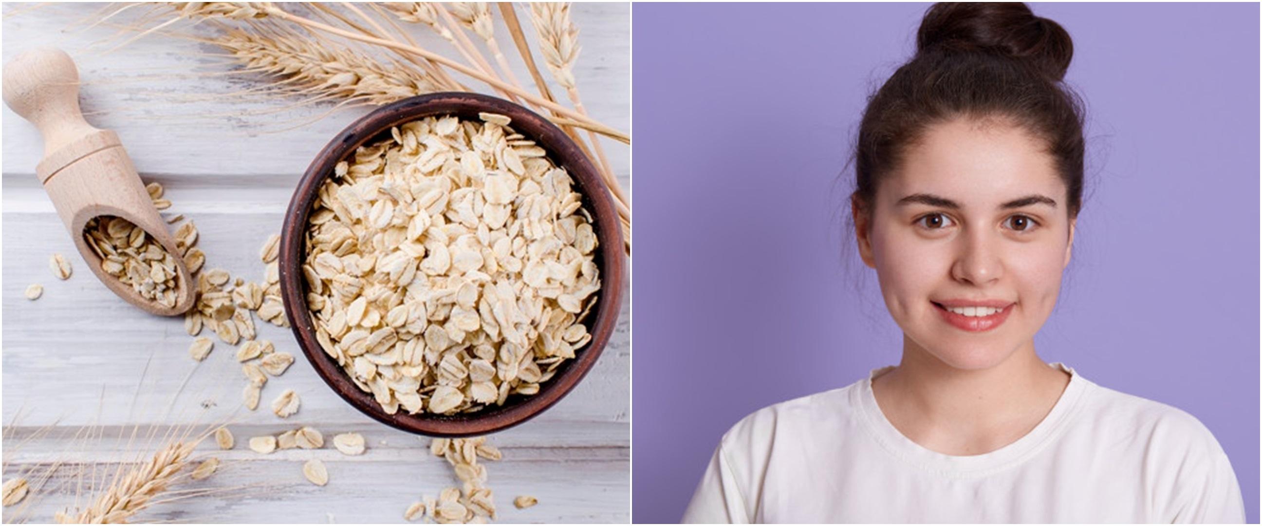 8 Manfaat oatmeal untuk kecantikan beserta cara pakainya