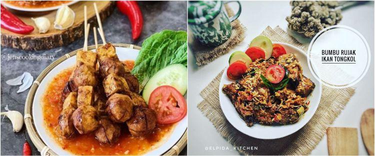 10 Resep masakan dengan bumbu rujak, enak, pedas dan mudah dibuat