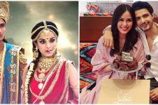 Momen kemesraan 7 pemain Mahabharata dan pasangan asli, bikin baper