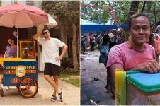 11 Pedagang ini viral karena wajahnya mirip artis