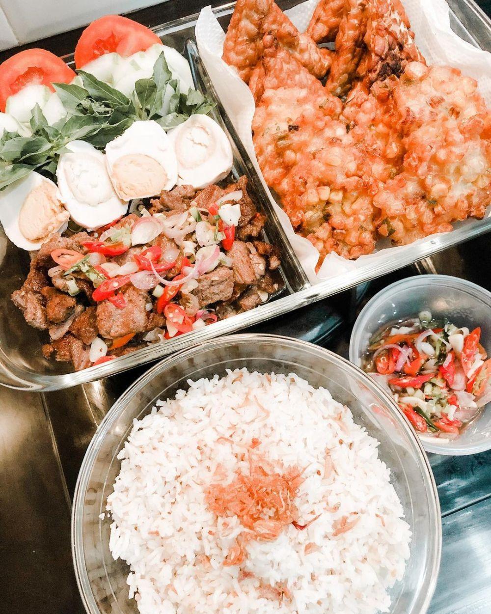 Resep makanan dengan sambal matah © Instagram