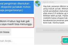 10 Balasan chat dari customer online shop ini bikin nyengir kecut
