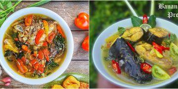 10 Resep sup ikan, enak, segar, bergizi dan mudah dibuat