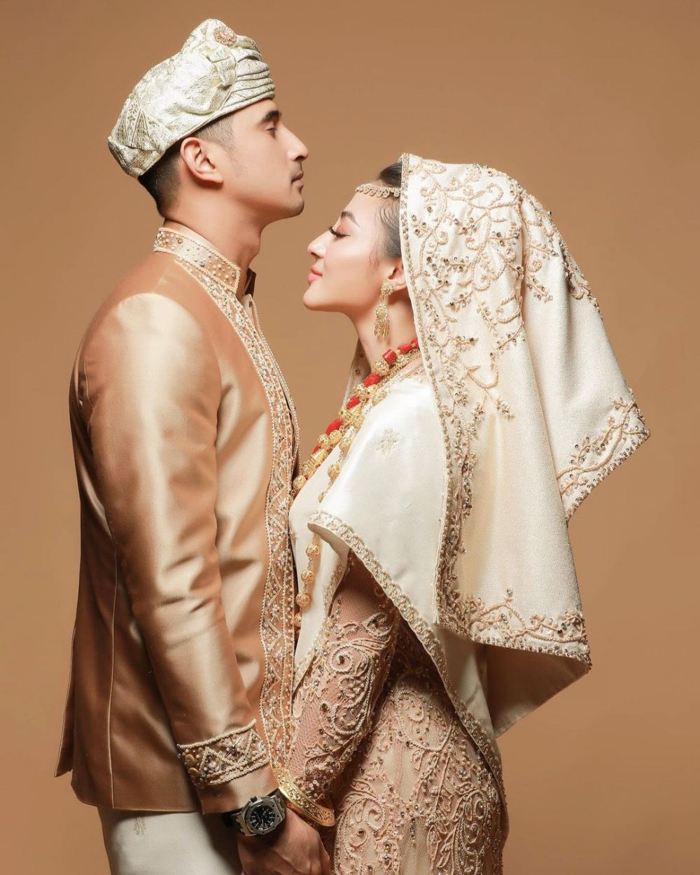 prewedding Ali Syakieb dan Margin © 2020 brilio.net/ Instagram