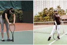 Gaya 7 seleb cantik saat main tenis, Syahrini terlihat cetar