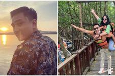 7 Momen liburan Lutfi Agizal dan Nadya Indri, kunjungi cagar budaya