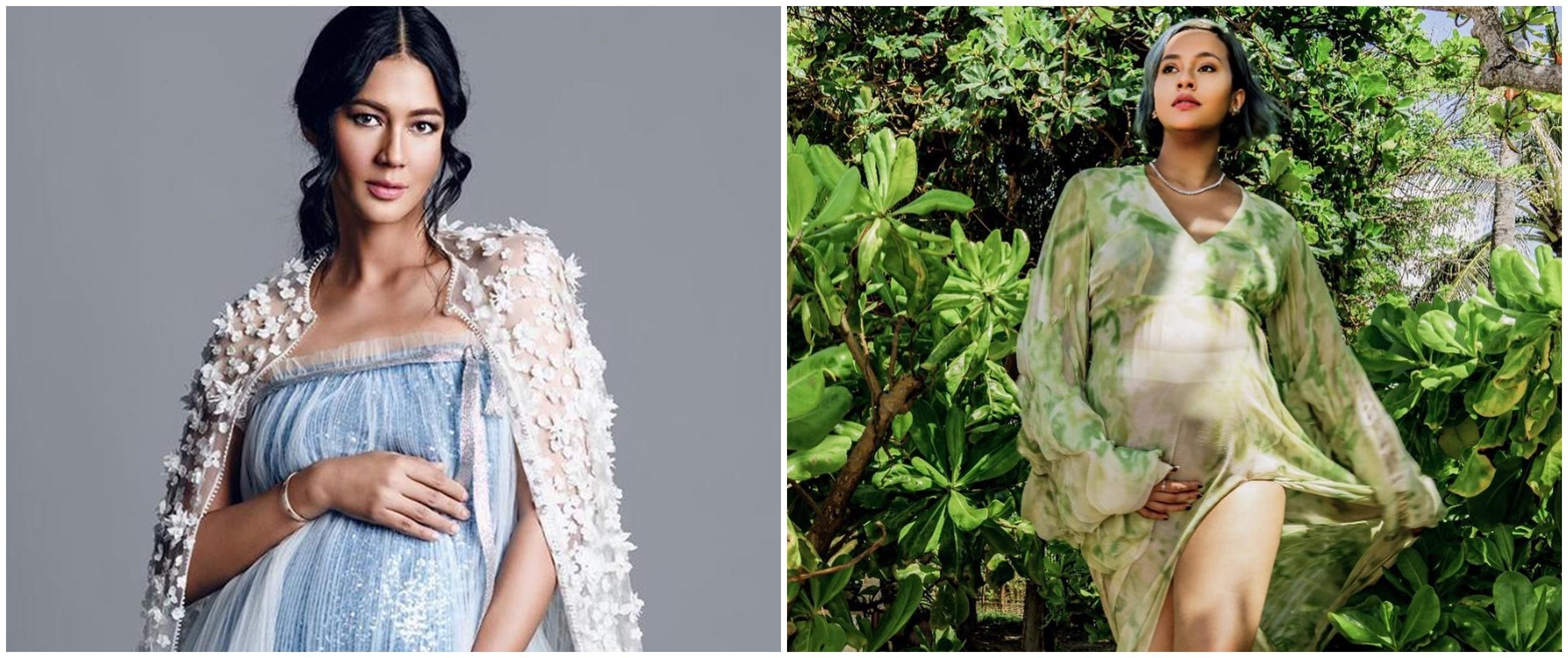 Gaya pemotretan maternity 5 supermodel Indonesia, elegan dan memesona