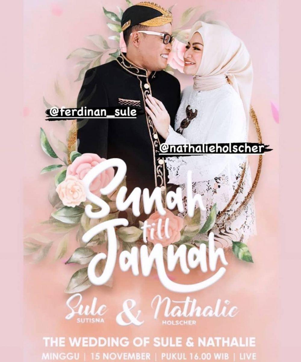 Sule dan Nathalie nikah tv © Instagram