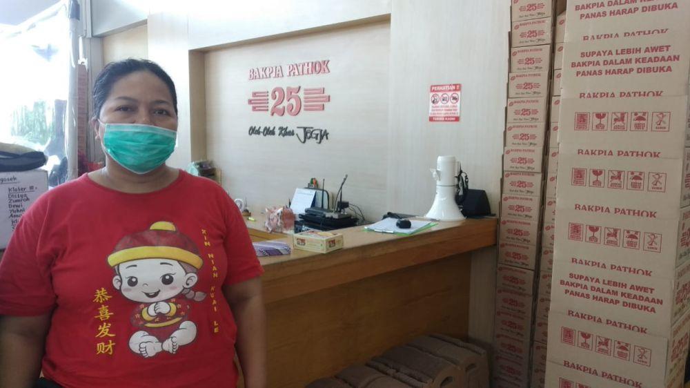 Kiat pedagang bakpia Jogja bertahan di saat Pandemi © brilio.net