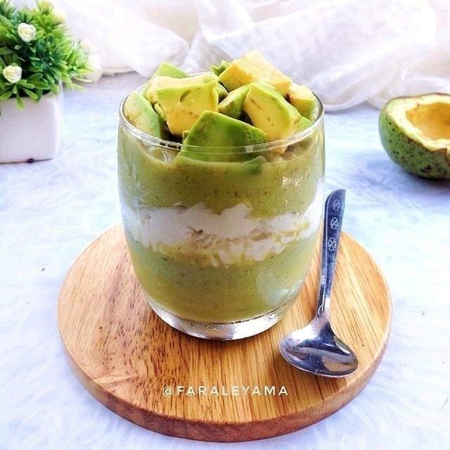 Resep minuman segar serba hijau ©Instagram