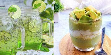 10 Resep minuman segar serba hijau, wajib dicoba dan bisa dijual