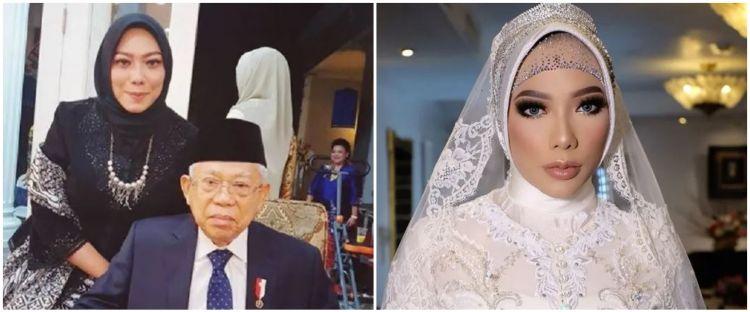 5 Potret Syaikha Aulia cucu Ma'ruf Amin, tampil memesona saat menikah