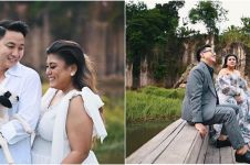 10 Momen Regina Idol pemotretan prewedding di Kandang Godzilla