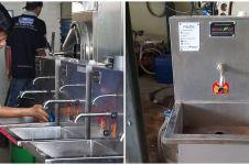 Dong So, inovasi wastafel otomatis pertama Indonesia karya anak Bantul