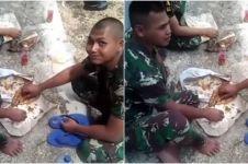 Kisah kakak beradik TNI tak sengaja ketemu saat penugasan, mengharukan