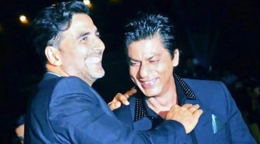 Potret kompak Shah Rukh Khan dan Akshay Kumar Berbagai sumber