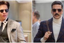 10 Potret kompak Shah Rukh Khan dan Akshay Kumar, bak kakak adik