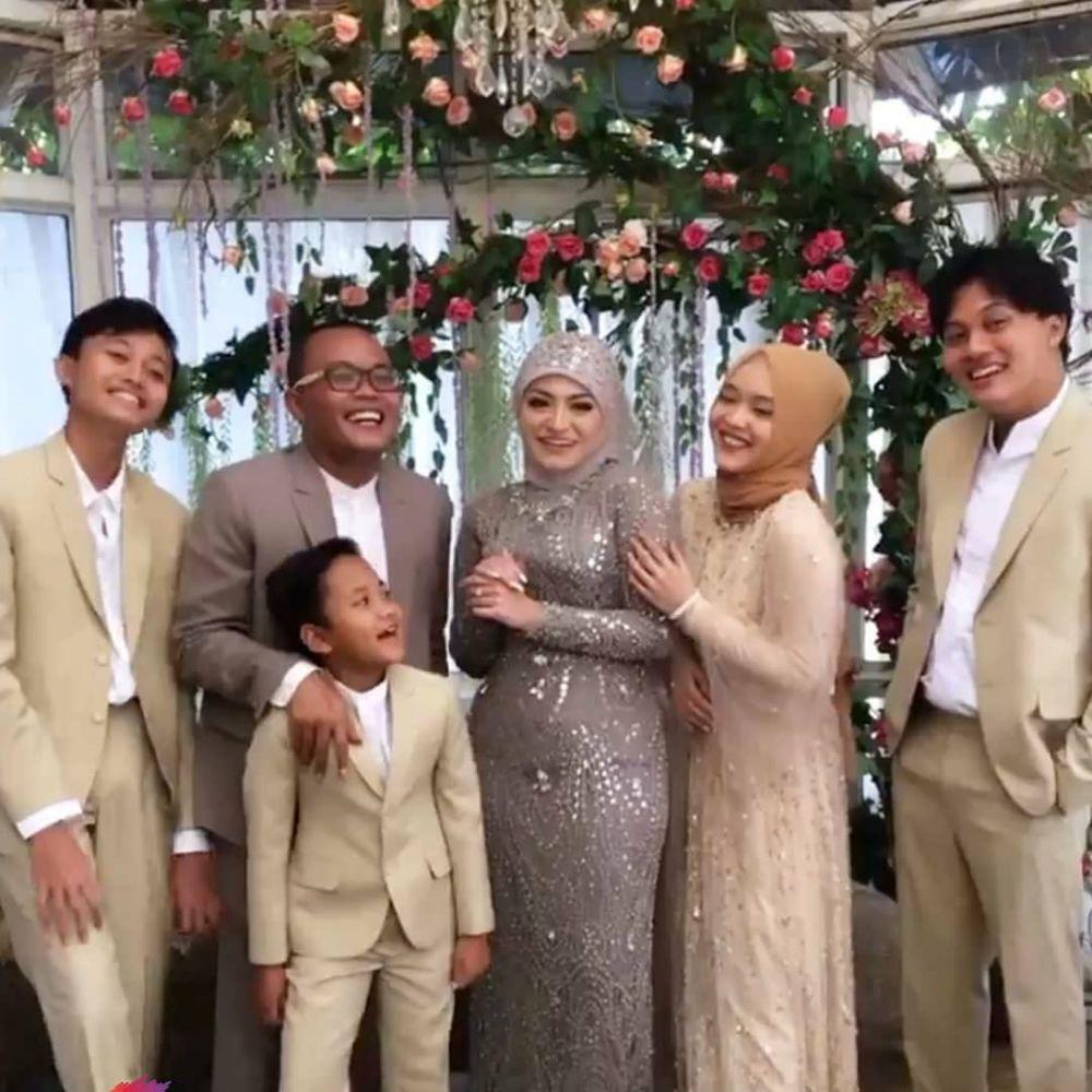 Momen akad nikah Sule dan Nathalie © YouTube