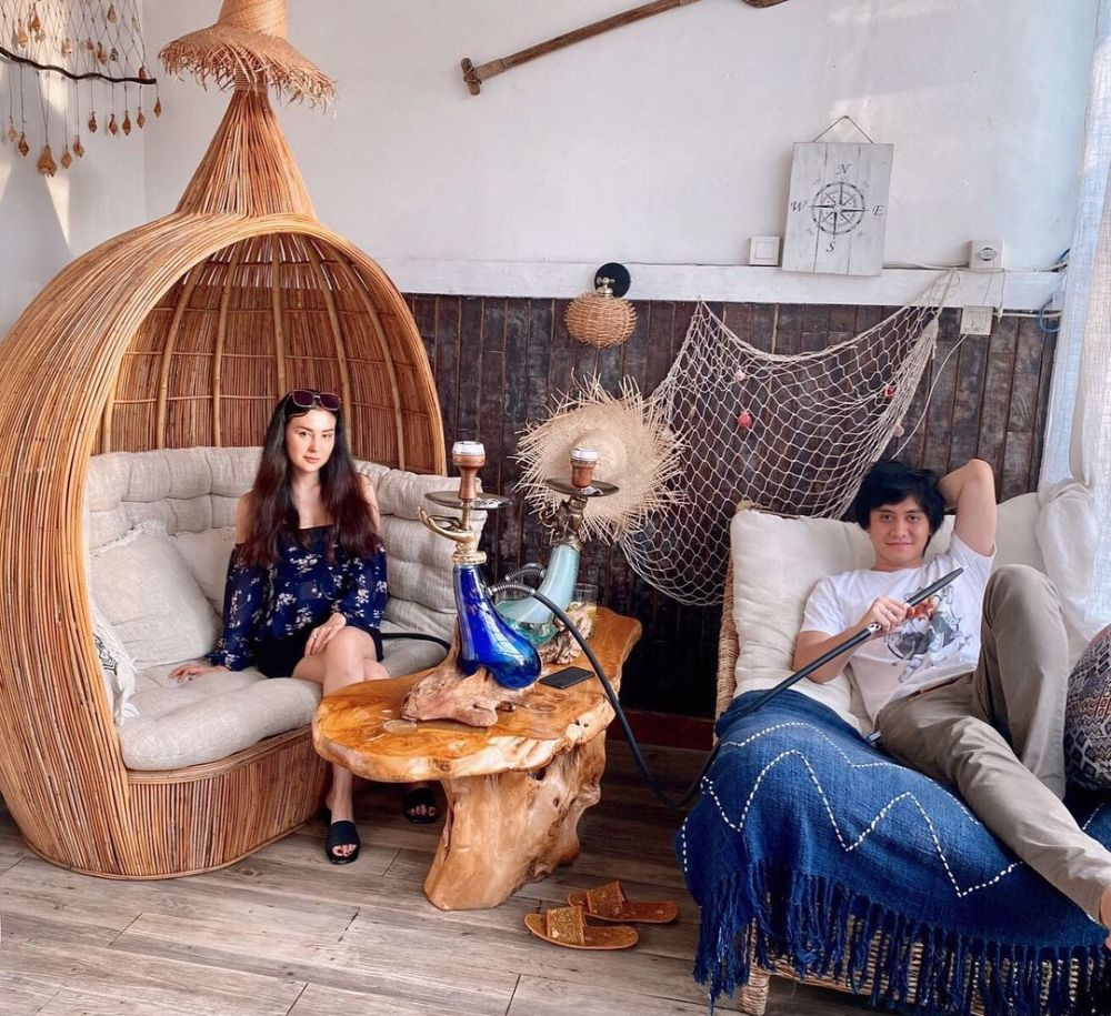 Momen bulan madu Kevin Aprilio & Vicy Melanie di Bali Instagram