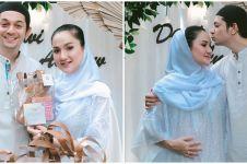 8 Momen syukuran 4 bulan kehamilan anak pertama Tengku Dewi Putri