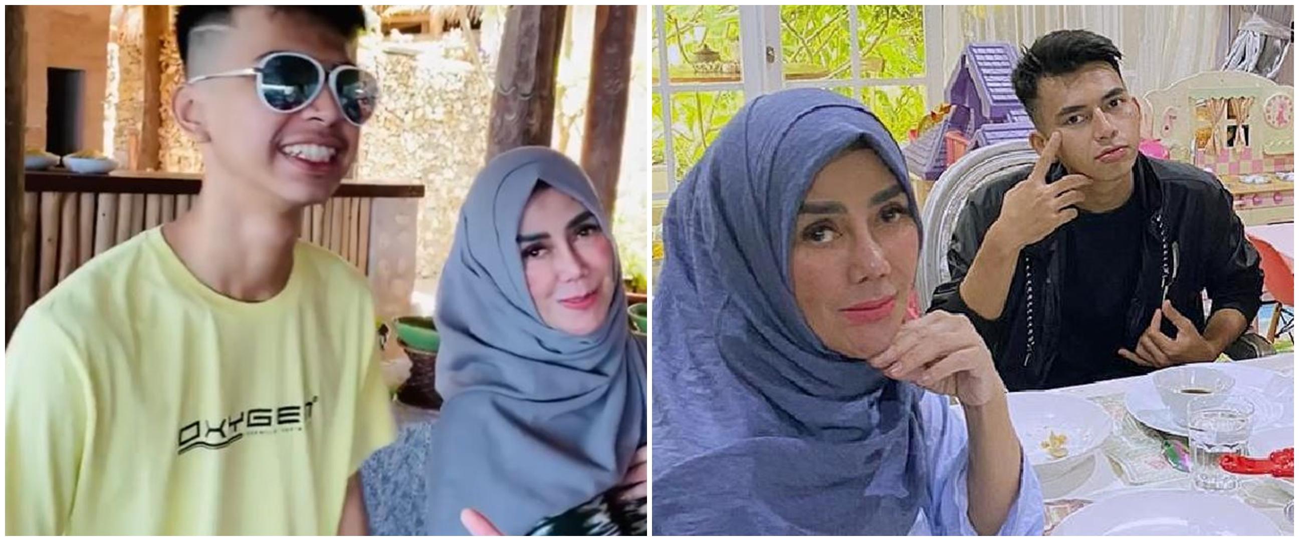 8 Potret kebersamaan Amy Qanita & Dimas 'kembaran' Raffi Ahmad, akrab