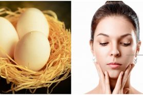 10 Manfaat putih telur untuk kecantikan dan cara pakainya