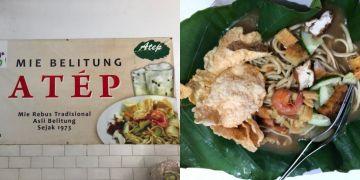 Mie Atep, kuliner yang wajib disantap saat berlibur ke Pulau Belitung