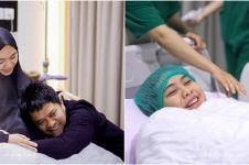 10 Momen Oki Setiana Dewi melahirkan anak ke-4, penuh haru