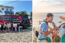 6 Seleb ini pilih liburan dengan bus, ada yang miliki fasilitas mewah