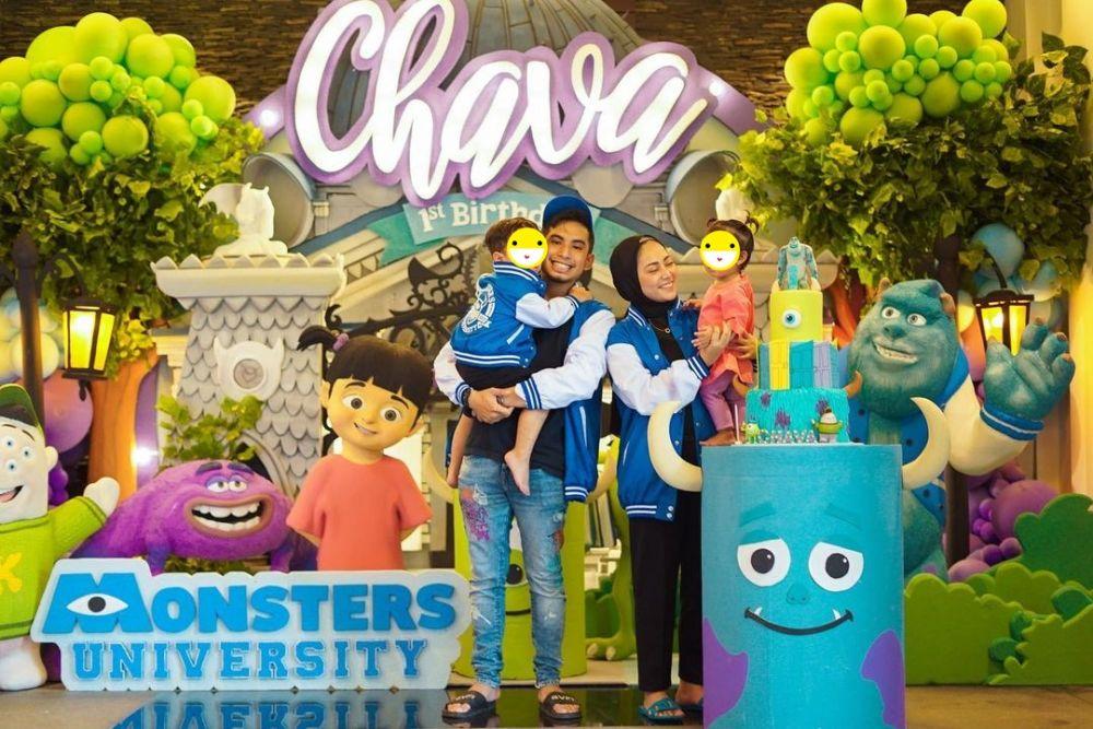 Momen ultah Chava anak Rachel Vennya Instagram