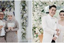 Momen pernikahan 10 presenter Tanah Air, Sule gelar garden party