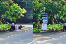 Kisah viral remaja berjualan donat di pinggir jalan hingga ketiduran