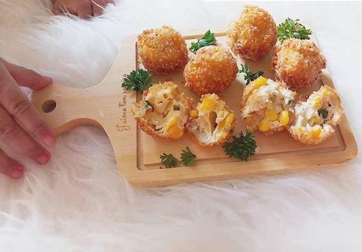 Resep camilan berbahan jagung © Instagram