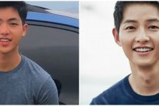 Viral pria mirip Song Joong-ki, ini 10 potretnya yang bikin meleleh