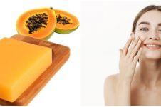7 Manfaat sabun pepaya untuk kulit, bahan alami atasi kerutan