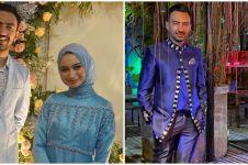 Potret detil gaun pernikahan Valda Alviana calon istri Reza Zakarya