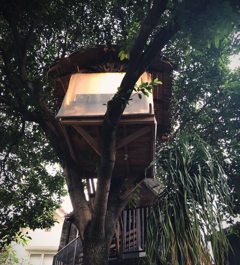 rumah pohon Cakra Khan © Instagram