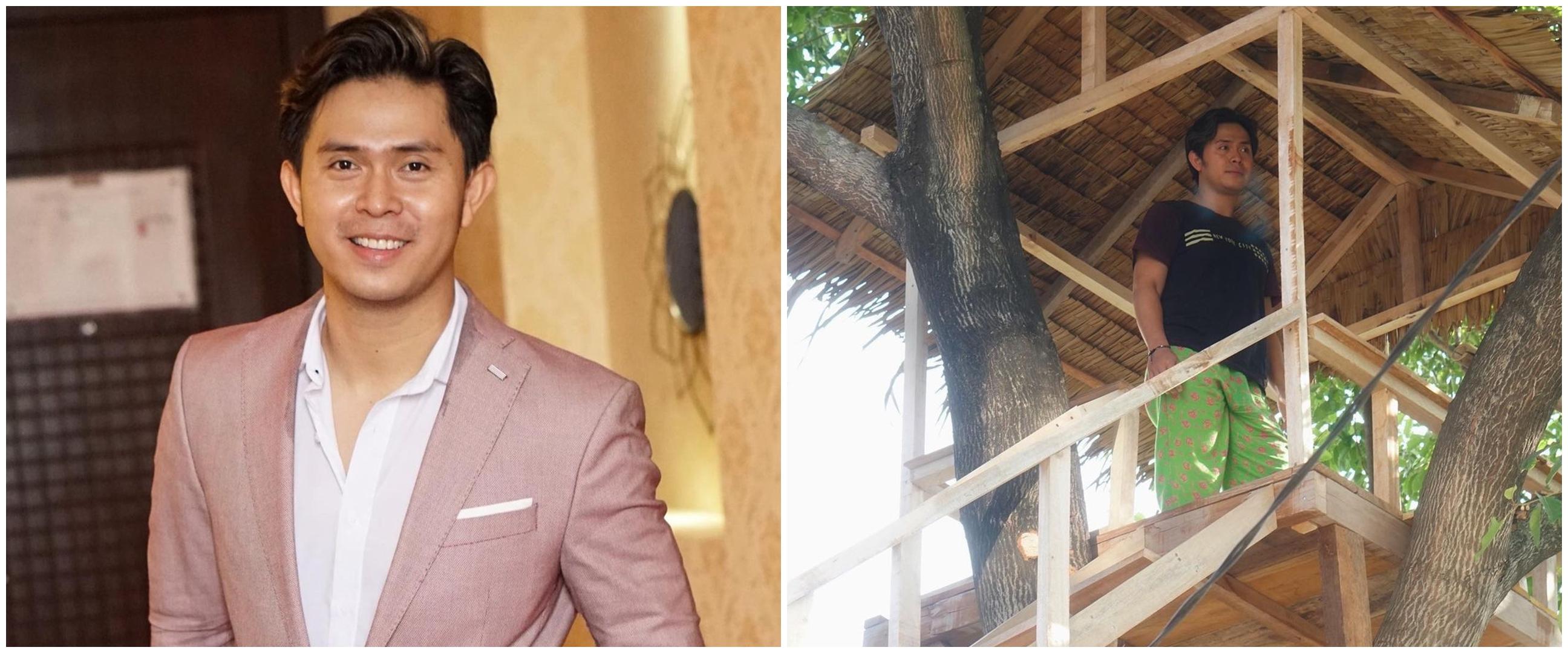 7 Potret rumah pohon Cakra Khan, terinspirasi dari film Heart