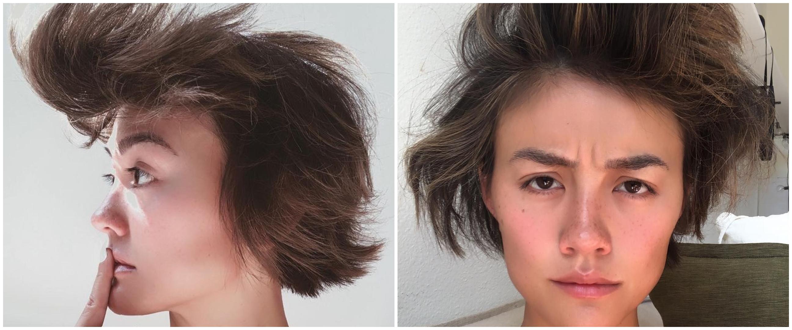 Potret rambut 7 seleb cantik saat baru bangun tidur, tetap cetar