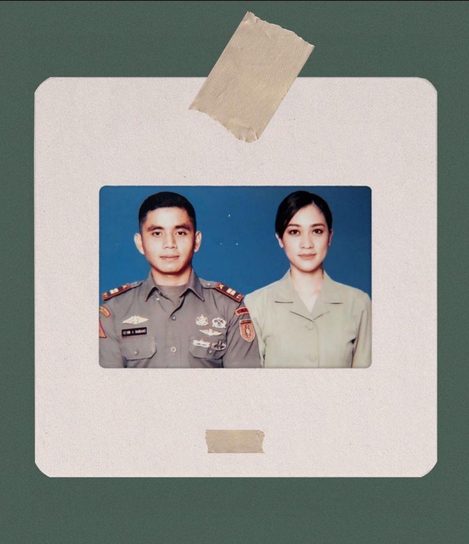 Puteri Indonesia menikah dengan polisi dan tentara © Instagram