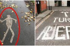 10 Desain marka jalan ini bikin orang yang lihat mikir dua kali