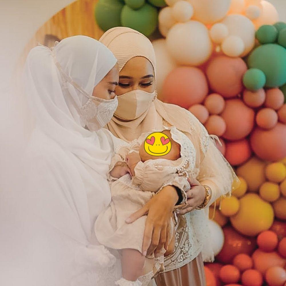 momen akikah baby rumi putri dian pelangi © Instagram