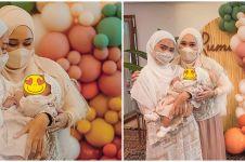10 Momen akikah baby Rumi putri Dian Pelangi, dekorasinya unik