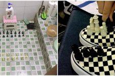 18 Papan catur antimainstream ini bentuknya absurd abis