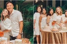 10 Momen pesta ulang tahun Gisella Anastasia ke-30, sederhana & meriah