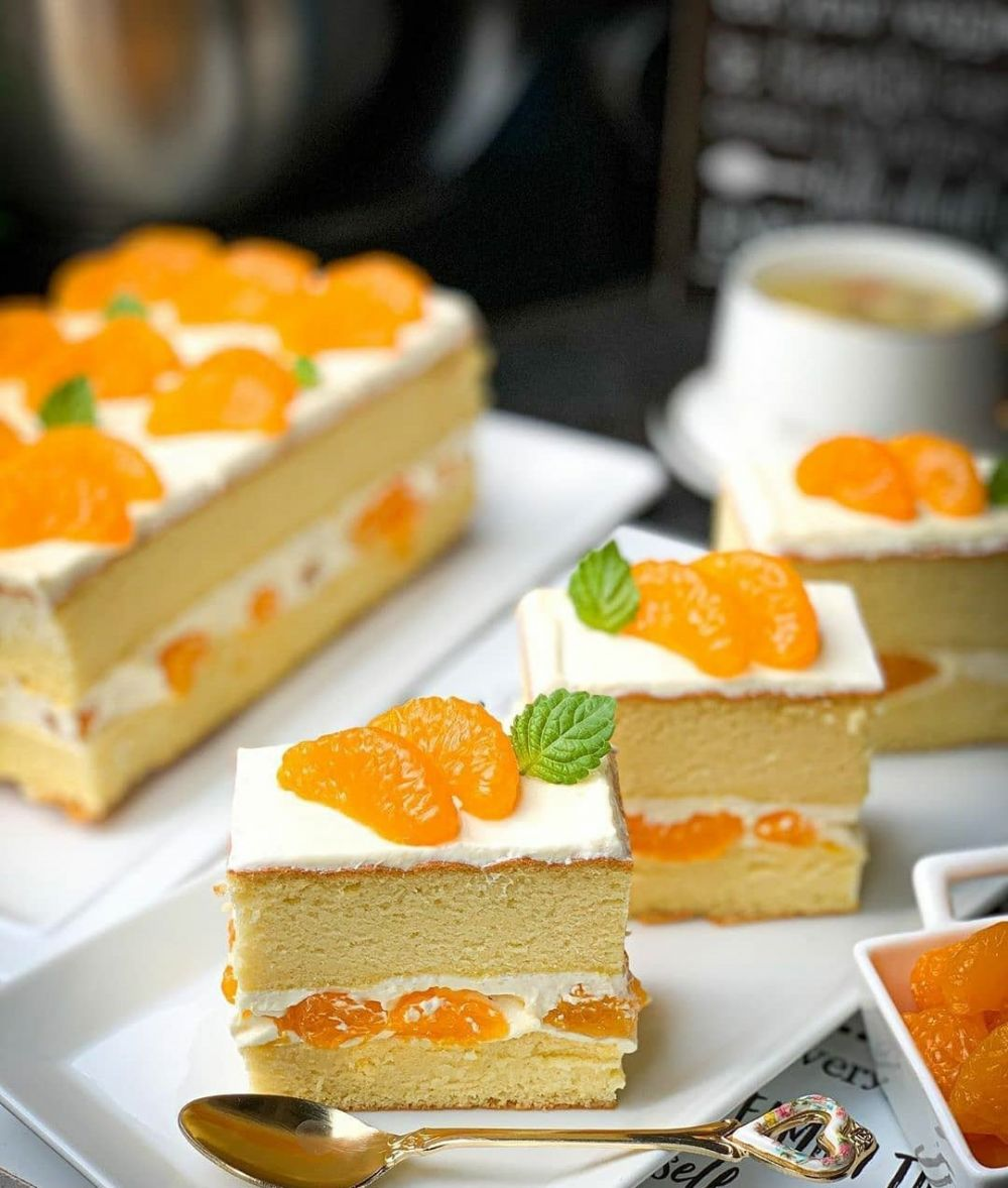 kue berbahan buah  Instagram